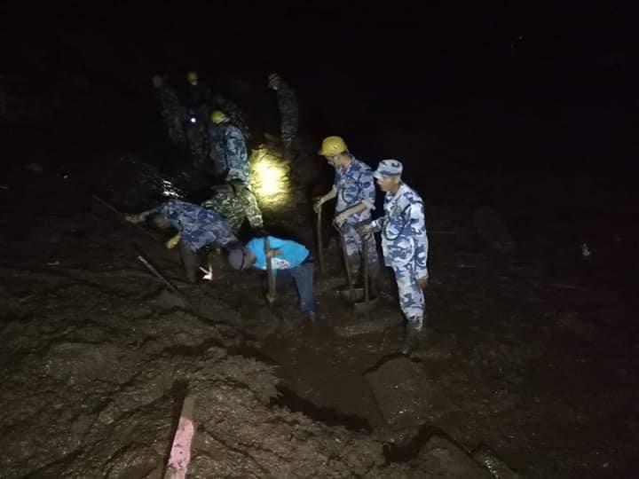पर्वतको कुश्मामा गएको पहिरोमा परेर मृत्यु हुनेको संख्या ५ पुग्यो