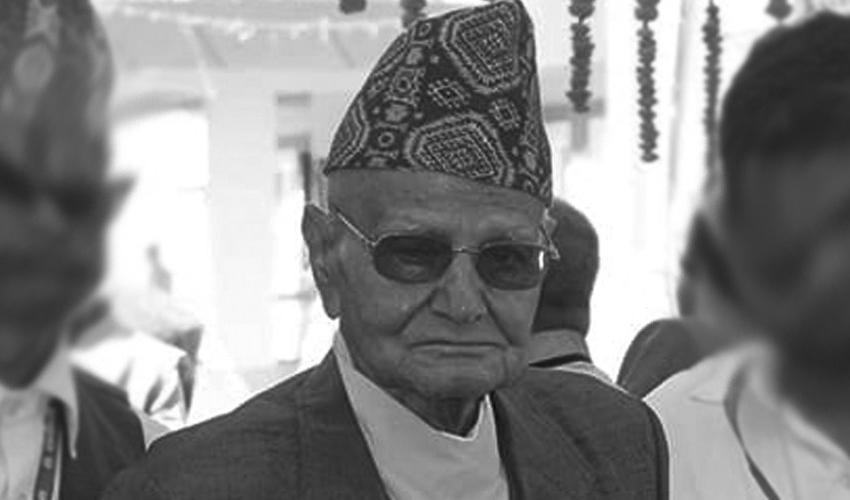 पूर्वप्रधानन्यायाधीश अनिरुद्र प्रसाद सिंहको निधन