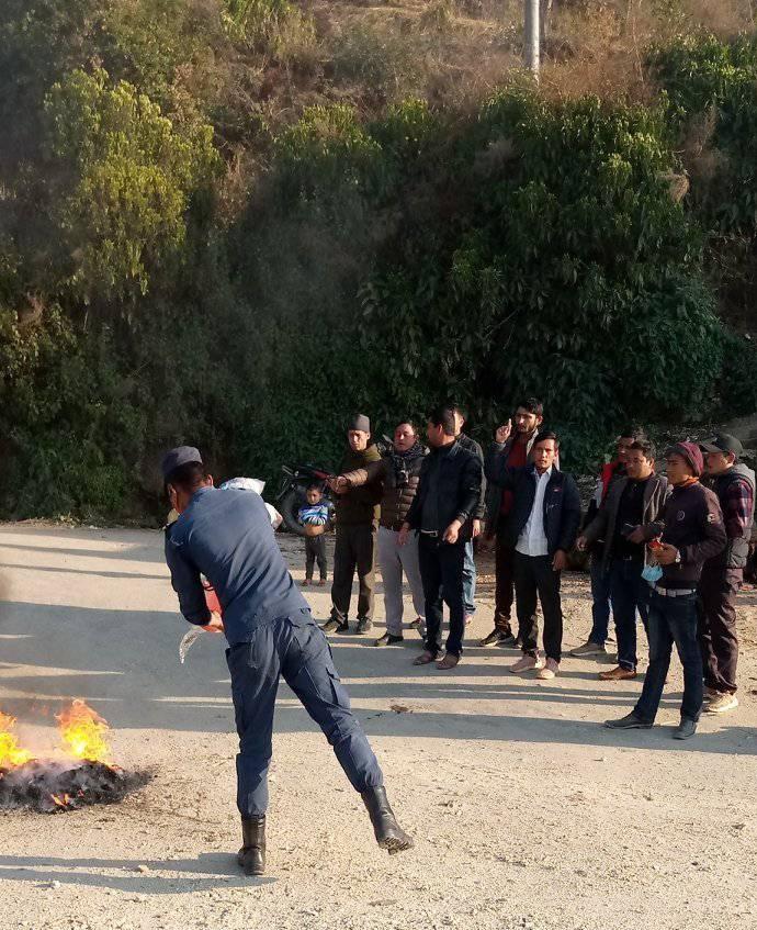 रामकुमारी झाँकीलाई रिहाइको माग गर्दै मंगलसेनमा प्रदर्शन