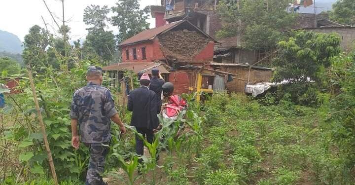 आज बिहान पनि परकम्प लमजुङको भुलभुले आसपास केन्द्रबिन्दु