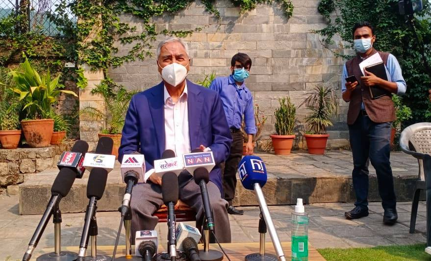कांग्रेसका सभापति शेरबहादुर देउवा आज पाँचौँ पटक मुलुकको प्रधानमन्त्री नियुक्त हुँदै
