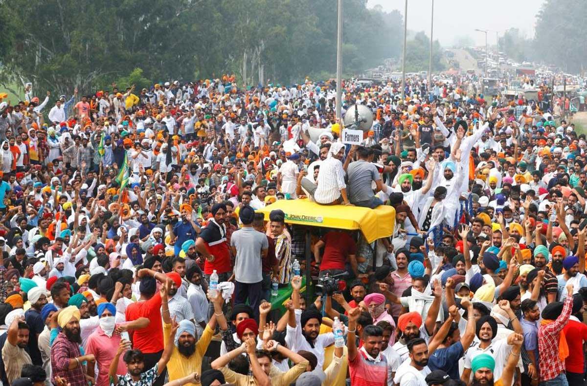 भारतमा किसान आन्दोलन आज संसद भवन बाहिर विरोध प्रदर्शन गर्ने