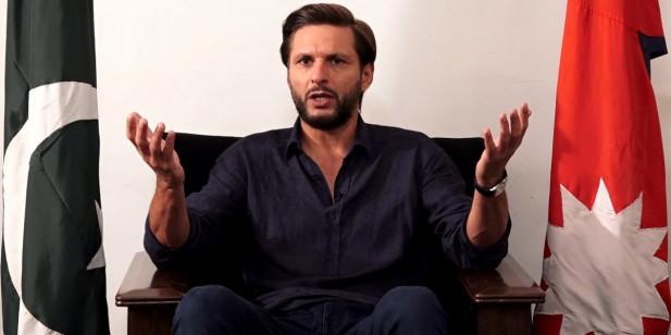 नेपाली टिमलाई पाकिस्तान लगेर क्रिकेट खेलाउँछु : शाहीद अफ्रिदी