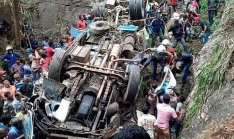 मुगु बस दुर्घटना: मृतकका परिवारलाई एक/एक लाख दिइने