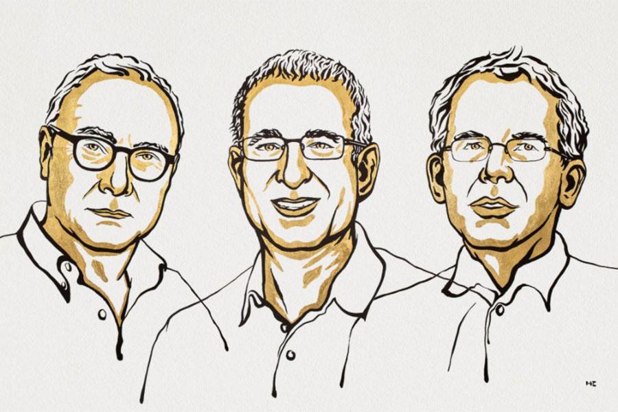 यस वर्षको नोबेल पुरस्कार तीन अर्थशास्त्रीलाई