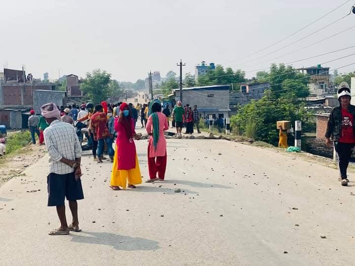 बुटवलको मोतिपुर औद्योगिक क्षेत्रमा कर्फ्यू आदेश